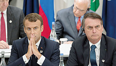 Macron believes Bolsonaro 'lied' on climate at G20
