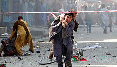Explosions in Afghanistan wound dozens...