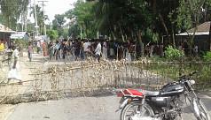 Child killed in Kurigram road...