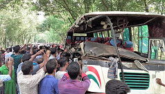 Thakurgaon road accident: Death toll...