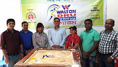 Dhaka Tribune journo becomes champion of DRU carrom tournament