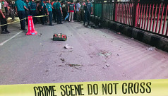 Two cops injured in bomb blast at Science...