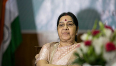 Modi moved to tears as India pays tributes to Sushma