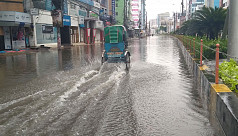 Khulna city submerged in rain