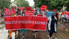 Kashmiri students at DU: Stop oppression...