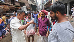 Makeshift beef bazaar in the city thrives on sacrificial meat