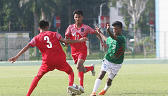U-15 boys lose to Nepal