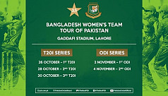 Women's cricket team to tour Pakistan...