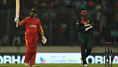 Shakib concedes 30 in one over against...
