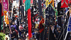 In pictures: Tazia procession on Holy...