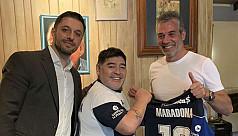 Maradona to coach Argentine club Gimnasia...
