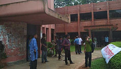 Students, teachers block JU administrative...