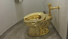 Thieves steal $5m gold toilet from Britain's...