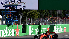 Leclerc sparks Ferrari celebrations...