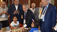 Khusbu wins silver in Rapid Chess in...