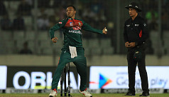 Shakib becomes fourth bowler to take...