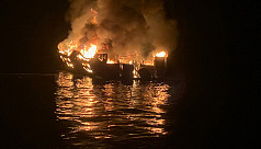 25 dead as scuba boat sinks in flames...