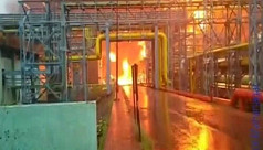 4 killed in massive fire at a gas plant...