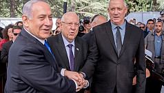 Israeli negotiators seek to break Netanyahu-Gantz...