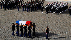 World leaders pay final tribute to France's...