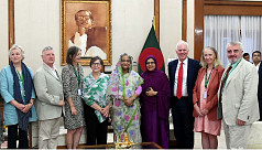 PM: Rohingyas a big burden for Bangladesh