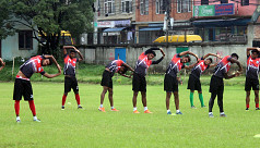 Junior booters take on Bhutan Friday...