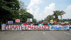 Global Climate Strike: Dhaka students...