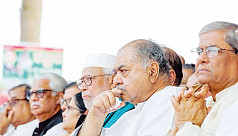 Oikya Front briefs diplomats on political...