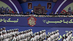 Iran accuses foreign forces of raising...
