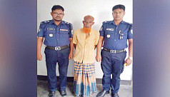 Sexagenarian held for raping fifth grader in Kurigram