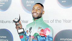 Rapper Dave wins UK's Mercury Prize...