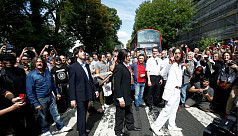 Beatles' Abbey Road back at top charts...