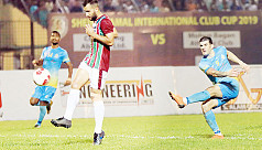 Ctg Abahani, Bagan into last four