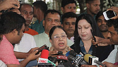 Khaleda's family wants to take her abroad...