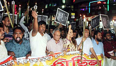 Keraniganj BNP brings out torch procession...