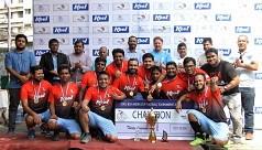 Kool-BSJA Media Cup: 10th silverware for Dhaka Tribune's trophy cabinet
