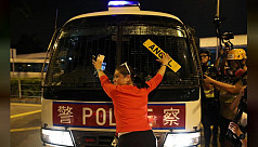 Hong Kong bans protesters from police...
