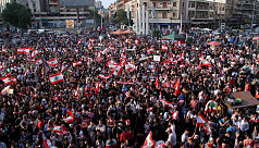 Lebanon's Aoun invites protesters to talk, hints at government reshuffle