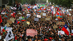 Over a million protesters demand Chile...