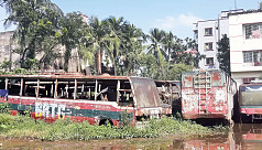 Corruption at Comilla BRTC Bus depot: Engines, other valuable parts looted