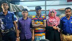 3 Rohingyas held while trying to enlist...