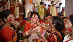 Bijoya Dashami being celebrated