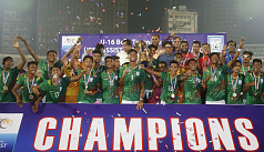 Bangladesh unbeaten champions of Uefa-assist U16 tournament