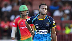 Shakib's Barbados outclassed in Qualifier...