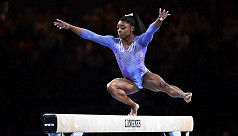 Biles sets record of 24 world gymnastics...