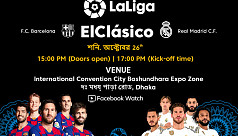 El Clasico to be shown live in...