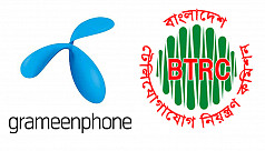 At long last, GP pays BTRC Tk1,000cr in partial dues