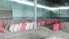 Onion supply runs out at Hili land port