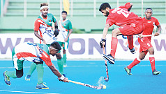 U21 hockey team thrash Oman