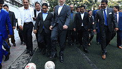 Fifa boss believes football is more popular than cricket in Bangladesh